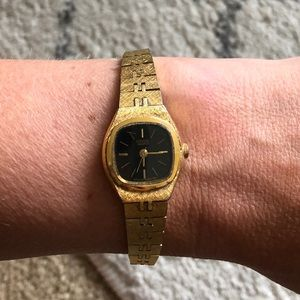 Vintage citizen gold watch